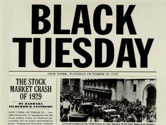 Image result for Great depression headlines